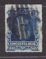 Brazil 1877 Mi. 40      50 R Kaiser Pedro II. - Usados