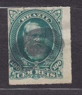 Brazil 1877 Mi. 42      100 R Kaiser Pedro II. - Brasil