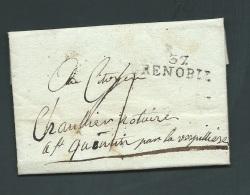 LAC  Datée  Du  23 Thermidor ( Année Non Précisée , 37 / GRENOBLE  Fab4911 - 1801-1848: Précurseurs XIX