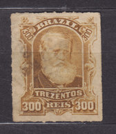 Brazil 1878 Mi. 45      300 R Kaiser Pedro II. - Brasil