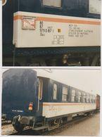 Photographie - Train - Wagons -  N° 6J - Trains