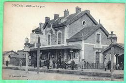CERCY LA TOUR - LA GARE - Francia
