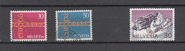 1971    N° 496-497-503  OBLITERES            CATALOGUE ZUMSTEIN - Suisse