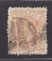 Brazil 1882 Mi. A 52      200 R Kaiser Pedro II. - Usados