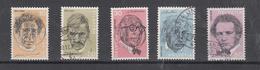 1972    N° 511 à 515  OBLITERES            CATALOGUE ZUMSTEIN - Suisse