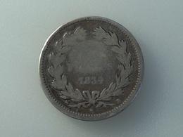 France 2 Francs 1834 B Silver, Argent Franc - France