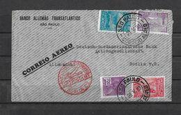 1933 BRASILIEN → Correio Aereo To Sao Paulo To Berlin / Allemanna  ►RRR◄ - Lettres & Documents
