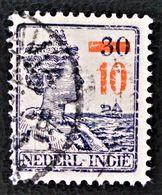 SURCHARGE 1937 - OBLITERE - YT 219 - Niederländisch-Indien