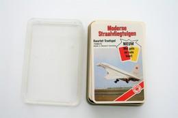 Speelkaarten - Kwartet, Moderne Straalvliegtuigen, ASS Nr 7580/5, Vintage, *** - - Cartes à Jouer Classiques