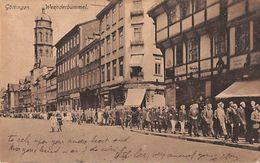 "07555 ""GERMANIA - GOTTINGEN - WEENDERBUMMEL"" ANIMATA. CART  SPED 1922 - Goettingen"