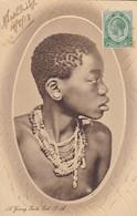 A YOUNG  ZULU GIRL   Carte  Rare - South Africa