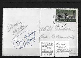 1947 100 JAHRE SCHW. EISENBAHNEN → Fehlende Speiche Auf Karte Grimsel  ►SBK-277.Pf.◄ - Abarten