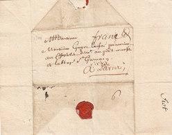 France 1704-1707 Three Entire Letters Dijon Pour Paris (q77-79) - Storia Postale