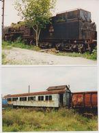Photographie - Train - Wagons - N° 1d - Trains