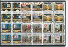 BURUNDI  Scott 528-530, C264-C266 Yvert 781-792, PA469-PA480 (24)  O Cote 45,00 $ 1977 - 1970-79: Oblitérés