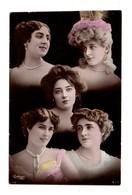 "FEMME . "" PORTRAITS DE JOLIES FEMMES "" - Réf. N°9124 - - Women"