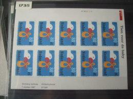 Nederland, Netherlands MNH Sheet Nvph Nr V1735 - Blocks & Sheetlets