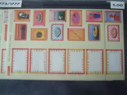 Nederland, Netherlands MNH Sheet Nvph Nr  1773/4 - Bloks