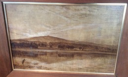 BRAZIL PARÀ-RIO DE JANEIRO 1875-80 Painting Bernhard Wiegandt 1851 Köln-1918 Bremen [Ölbild Paula Modersohn-Becker - Oils