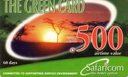 TARJETA TELEFONICA DE KENIA (PREPAGO). (001) - Kenia