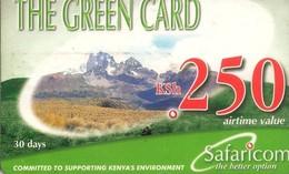 TARJETA TELEFONICA DE KENIA (PREPAGO). (002) - Kenya