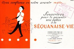 Buvard : SEQUANAISE-VIE - Bank & Insurance