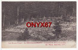REICHACKERKOPF-Gaschney-Soulzeren-Metzeral-Munster-(Haut-Rhin) Massengräber-Cimetière Militaire Allemand-Friedhof-Weick - Cimiteri Militari