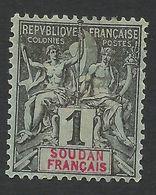 French S., 1 C. 1894, Sc # 3, MH. - Ungebraucht