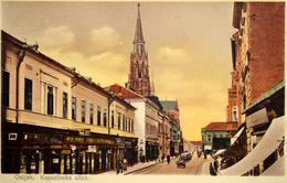 Osijek : Kapucinuska Ulica       1931 - Croatia