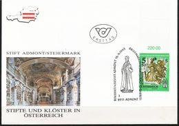 Österreich-   - FDC -1993  -  Mi.Nr. 2094     Kunstwerke Aus Stiften Und Klöstern. - FDC