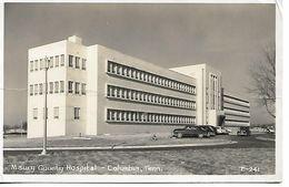 MAURY COUNTY HOSPITAL COLUMBIA TENN N° E241 VERS 1960 - Etats-Unis