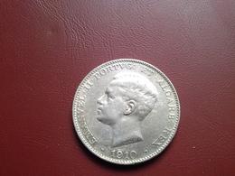 500 Reis D.Manuel II.  1910 (Marquez De Pombal)  Silver - Portugal