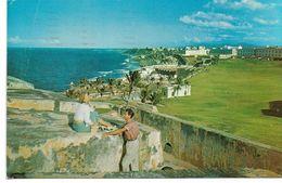 PUERTO RICO SAN JUAN VIEW  OF SECTIONOF EL MORRO CASTLE  1972 - Puerto Rico