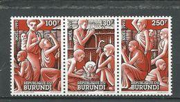 BURUNDI  Scott 714 Yvert 1008-1010 (3) ** Cote 7,00 $ 1993 - 1990-99: Neufs