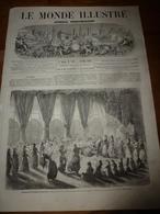 1863LMI: Réparation Du Paquebot VERA-CRUZ à St-Nazaire; Nouveau Champs-Elysées;Tremblement De Terre à île De Rhodes;etc - Journaux - Quotidiens