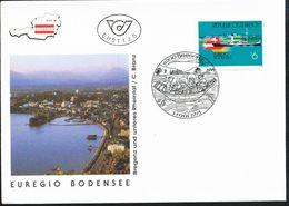 Österreich-   - FDC -1993  -  Mi.Nr. 2096     Euregio Bodensee. - FDC