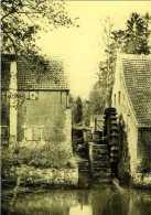 SINT-MARIA-LATEM Bij Zwalm (O.Vl.) - Molen/moulin - Historische Opname (ca.1890) Van De IJzerkotmolen Als Onderslagmolen - Zwalm