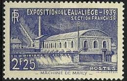 """FR YT 430 """" Exposition De L'eau à Liège """" 1939 Neuf* - Frankreich"""