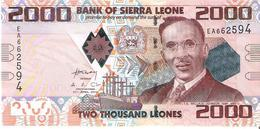 Sierra Leone - Pick 31 - 2000 Leones 2010 - Unc - Sierra Leone