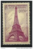 """FR YT 429 """" Tour Eiffel """" 1939 Neuf* - Frankreich"""