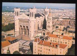 CPM Neuve 69 LYON Vue Générale Et Basilique Notre Dame De Fourvière - Otros