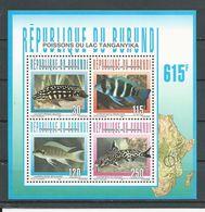 BURUNDI  Scott 749a Yvert  BF137 (bloc) ** Cote 8,00 $ 1996 - Burundi
