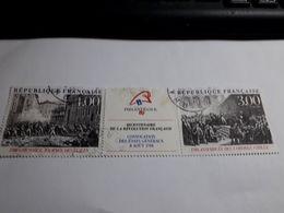 Timbre France  1988 Bicentenaire De La Révolution Yvert 2538A Oblitéré - Used Stamps