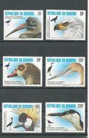 BURUNDI  Scott 740-745 Yvert  1076-1081 (6) ** Cote 11,00 $ 1996 - 1990-99: Neufs