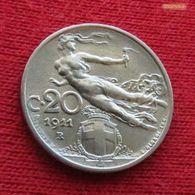 Italy 20 Centesimi 1911 KM# 44 Italia - Italie
