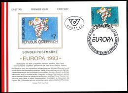 Österreich-   - FDC -1993  -  Mi.Nr. 2095      Zeitgenössische Kunst. - FDC