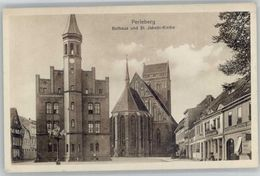 40040777 Perleberg Perleberg Rathaus St Jakobi Kirche * Perleberg - Perleberg