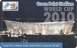 South Africa Phonecard Green Point, Cape Town Football 2010 Mint - Zuid-Afrika