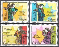 Poland 1999 - Christmas - Mi 3797-800 - Used Gestempelt - Used Stamps