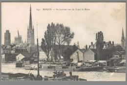 CPA 76 - Rouen - Ile Lacroix Vue Du Cours De La Reine - Rouen